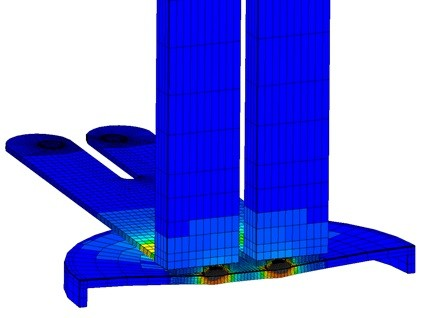battery welding simulation by SORPAS 3D