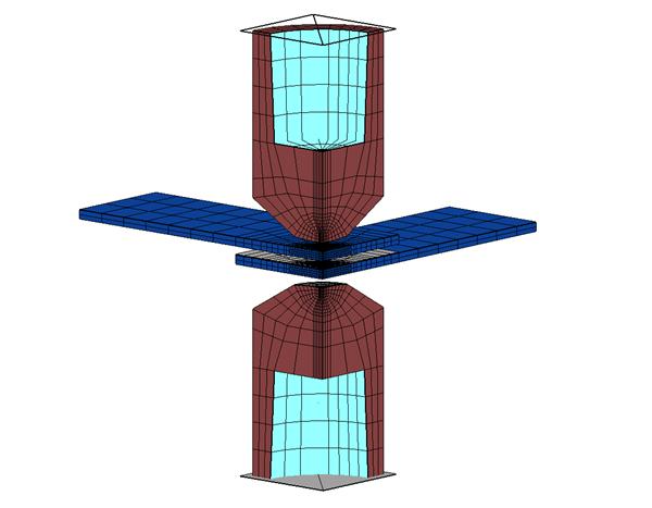 Cross Tension Testing Model